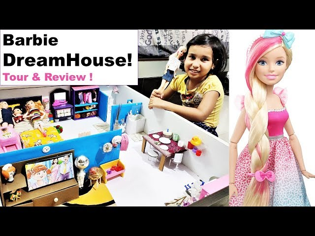 Barbie Doll House In Hindi | Barbie House Tour | Best Out of Waste / #LearnWithPari