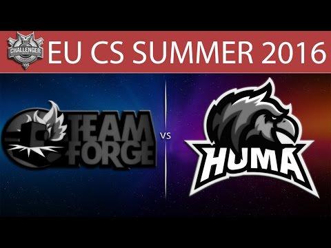 [LoL VODs] 4G vs HMA Game 1 | EU CS Summer 2016 (05.07.2016) - Team Forge vs Huma
