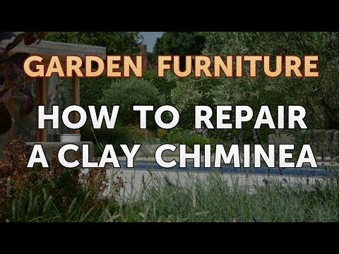 How to Repair a Clay Chiminea