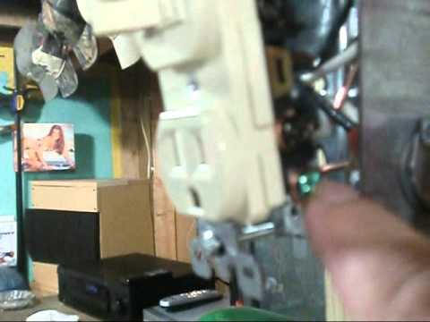 HVAC How to Wire a 110 volt Furnace Switch  Furnace Switch