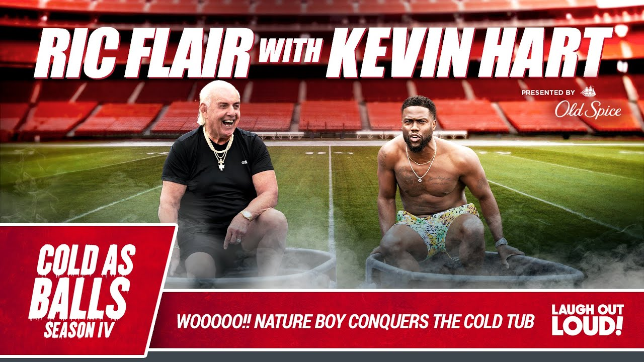 Kevin Hart and The Nature Boy Ric Flair WOOOOO The Season Finale | Cold as Balls S4 | LOL Network