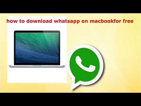 How To Download WhatsApp On Your Macbook For Free!!! 2018 (real Easy)