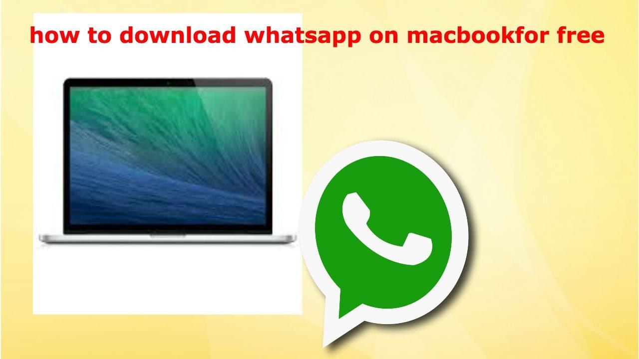 Whatsapp download for apple macbook pro