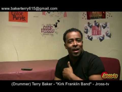 "James Ross @ (Drummer) - Terry Baker - ""Kirk Franklin Band"" - Jross-tv"