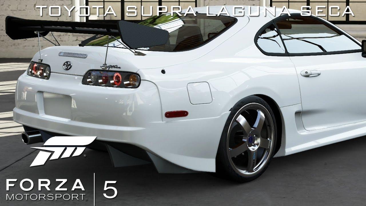 xbox one forza motorsport 5 toyota supra rz gameplay