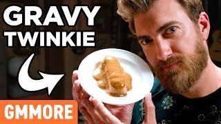 Gravy Covered Twinkie Taste Test