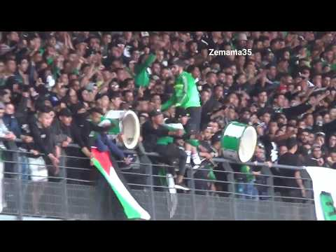 بقيادة الكابو سكوادرا جمهور الرجاء يهز ملعب مراكش الدولي - Raja Club Athletic Supporters