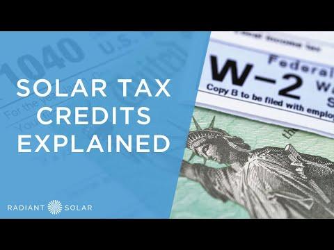Solar Tax Credits Explained // Radiant Solar