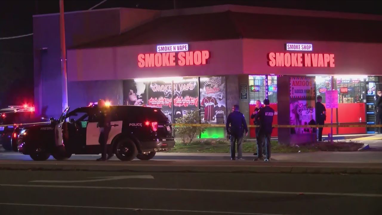 Two people shot and killed after smoke shop robbery