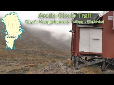 Arctic Circle Trail 2016. Greenland. Stage 9:  Kanerluarsuk Tulleq - Sisimiut