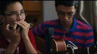 (Học Harmonica) (Yiruma) LOVE ME - guitar harmonica cover