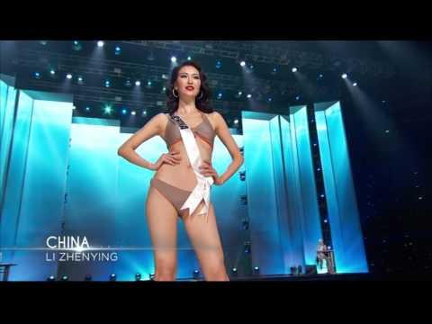 2016 Miss Universe | CHINA | Swimsuit