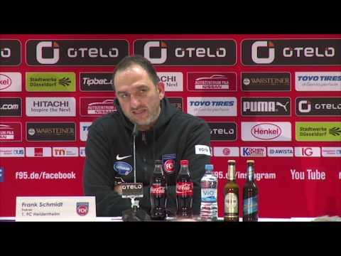 Pressekonferenz Fortuna Düsseldorf gegen 1.FC Heidenheim I 2. Bundesliga 16/17 I