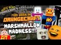 Annoying Orange Let's Play Minecraft - MARSHMALLOW MADNESS!