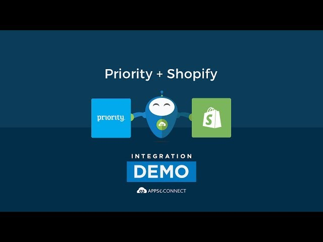 Integrate Priority ERP and Shopify Ecommerce Store | APPSeCONNECT