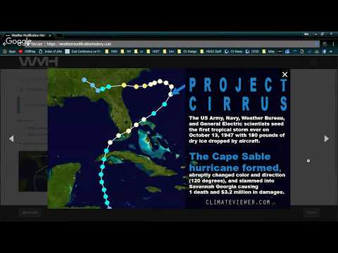 The FULL History of Hurricane Modification (1947 - Present)