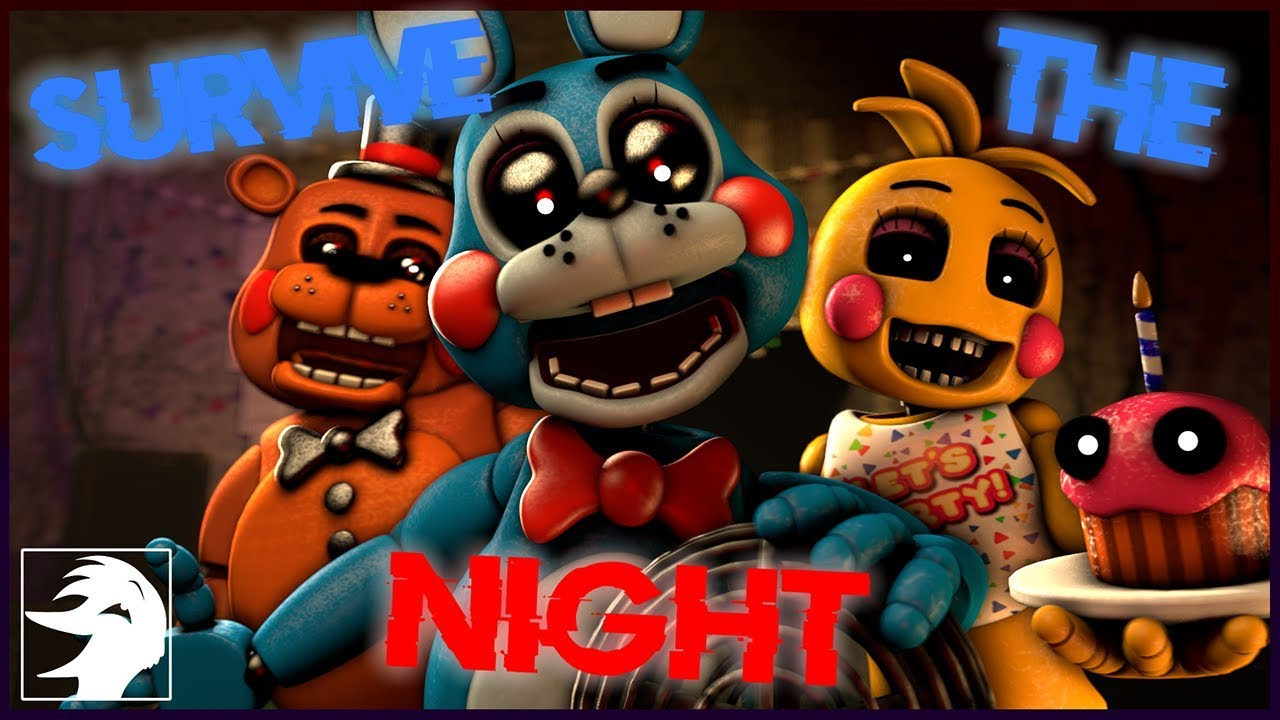 [FNAF SFM] Survive The Night - Mandopony (Cover by Swiblet)