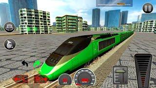 City Train Driver Simulator | Free Train Games | Android Gameplay HD #2 screenshot 3