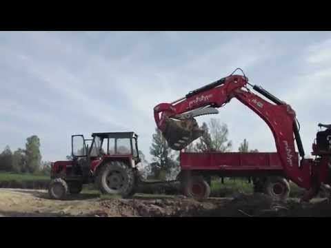 Repeat Homemade BackHoe Thumb For Kubota by Pete Foronda