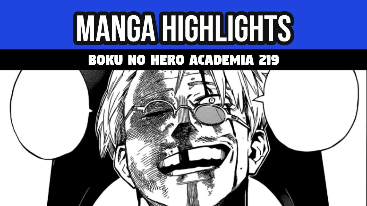 Boku no hero manga 219