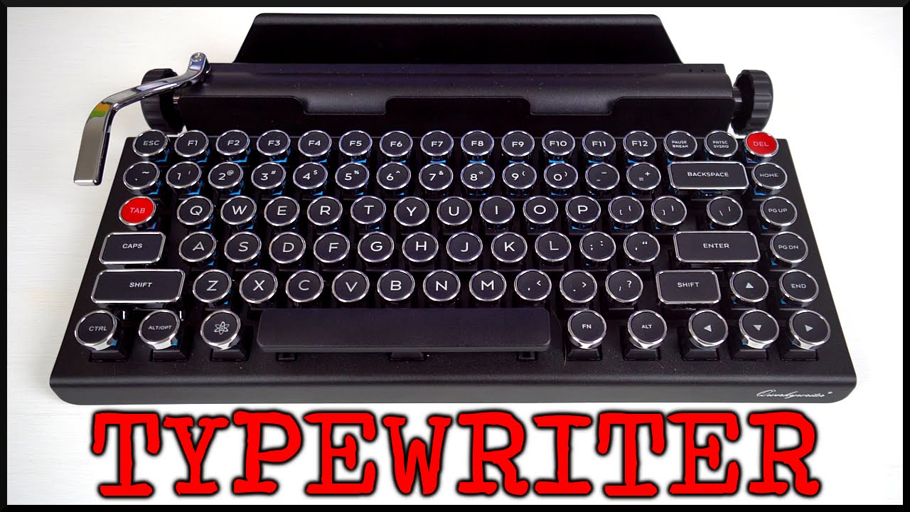 qwerkywriter typewriter mechanical keyboard w typing. Black Bedroom Furniture Sets. Home Design Ideas