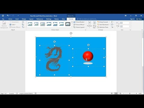How to Group Pictures in Word
