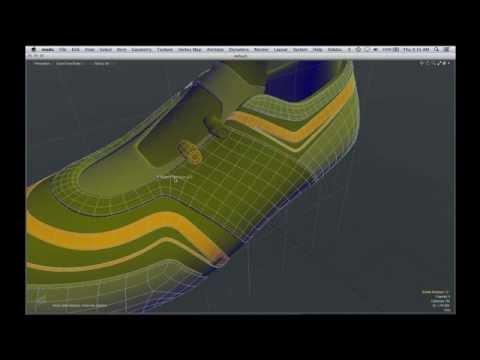 MODO - Shoe Workflow