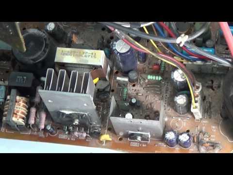 видео: Ремонт телевизора sony trinitron