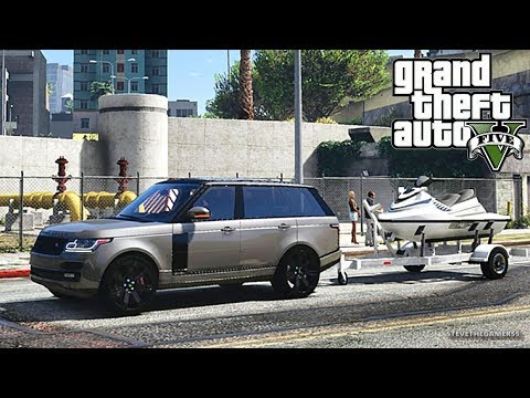 GTA 5 MOD #176 LET'S GO TO WORK (GTA 5 REAL LIFE MOD) HAULING