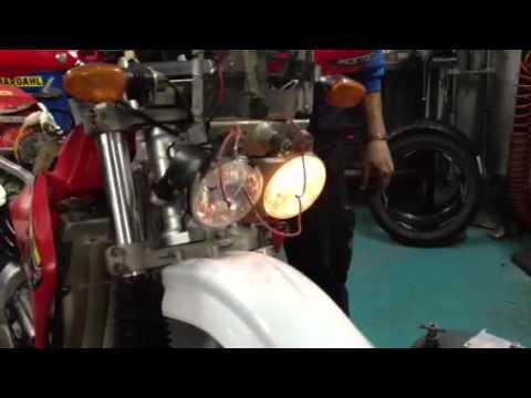 Schema Elettrico Xr 600 : Honda xr r statore youtube
