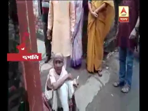 Hooghly: Son and Daughter in Law left their old Mother on the Street, neighbour rescues he