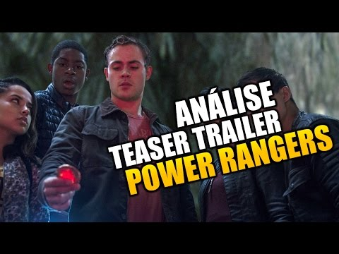 ANÁLISE teaser trailer de POWER RANGERS