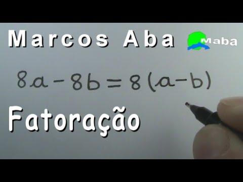 FATORAÇÃO - Fator Comum em evidência - Aula 02 from YouTube · Duration:  28 minutes 41 seconds