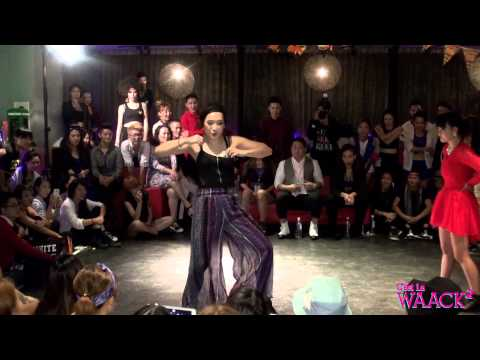 Waacking Battle Best16 7 Lip J vs Ibuki | 20141026 C'est La WAACK Vol.2