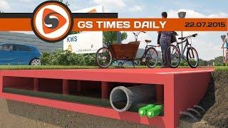 GS Times [DAILY]. Пластиковые дороги