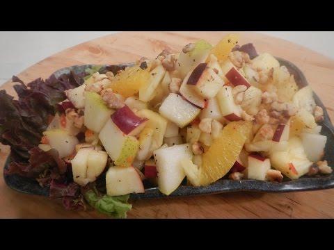 Fruit Salad With Honey Chilli Dressing   Sanjeev Kapoor Khazana