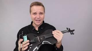 Glasser And Mezzo Forte Design Line Violins For Lisa