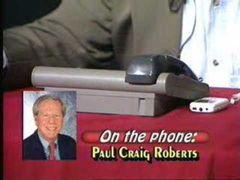 Time Out's 3rd Interview With Dr. Paul Craig Roberts