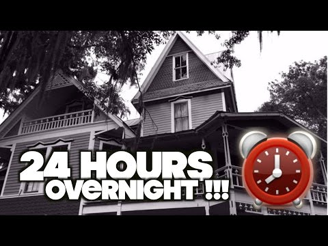 LOCKED INSIDE AN EXTREMELY HAUNTED HOUSE AT 3AM | OmarGoshTV