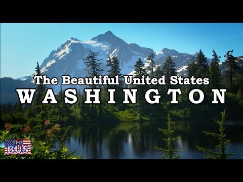USA Washington State Symbols/Beautiful Places/Song WASHINGTON, MY HOME w/lyrics