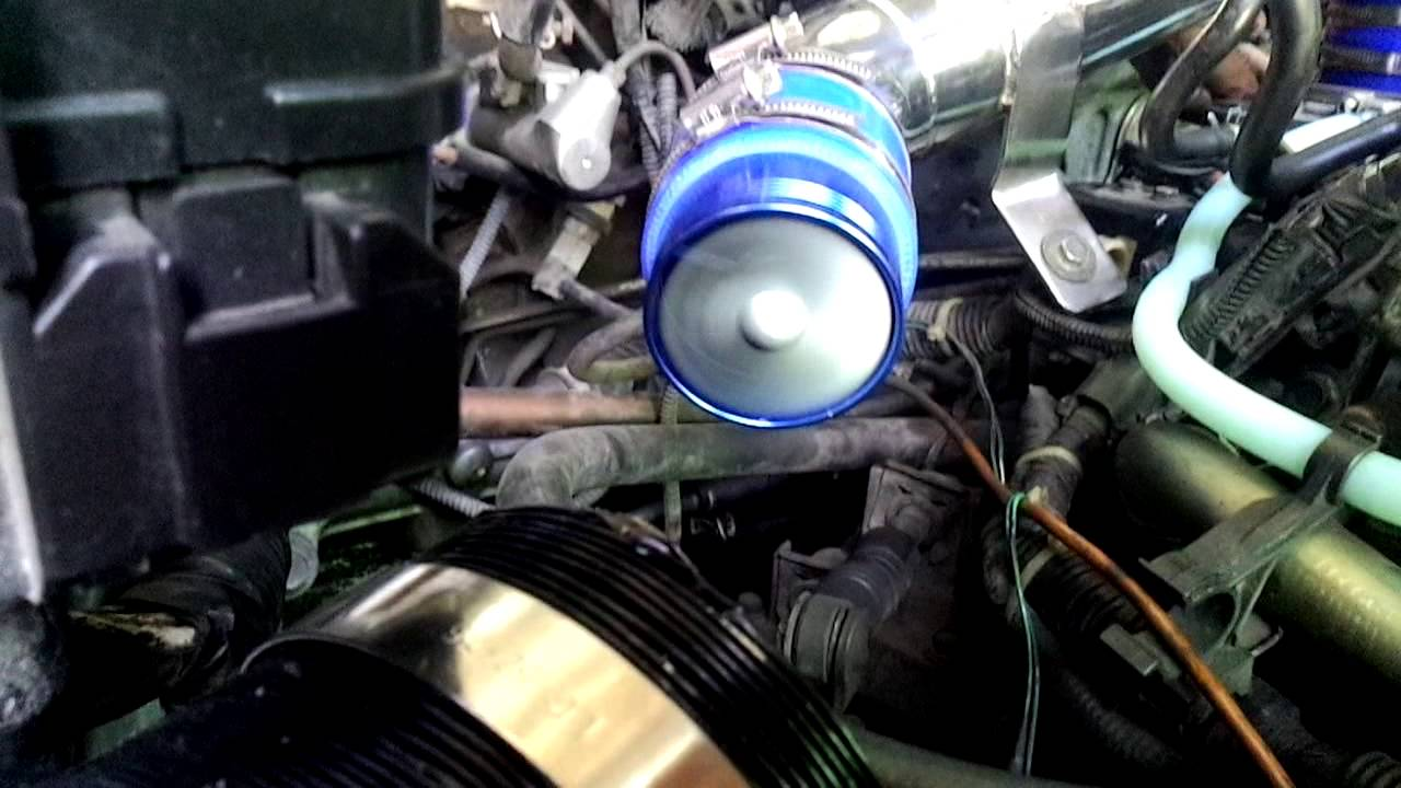 Civic Es 01 F1 Z Fan Air Intake Supercharger Youtube