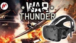 War Thunder VR | Летаем в HTC Vive