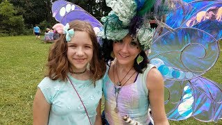 Meeting Fairies in Real Life? Renaissance Festival! Jillian and Add...