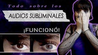 ( TODO SOBRE AUDIOS SUBLIMINALES   MI EXPERIENCIA ) ; Â¡FUNC...
