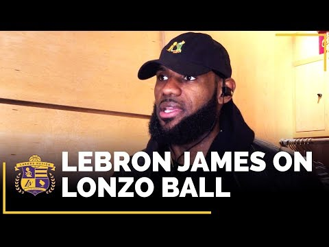 Download Youtube: LeBron James On Lonzo Ball And What He Appreciates Most