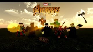 Avengers: Infinity War After Credits Scenes | ROBLOX