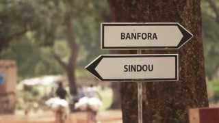 Banfora-Sindou, la route du développement