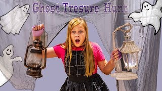 Assistant Treasure Hunt in the Spooky Halloween House