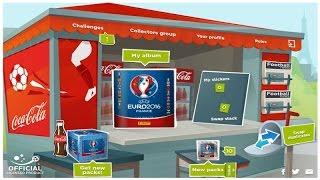 █▬█ █ ▀█▀ ⚽️ panini UEFA EURO 2016 France VIRTUAL Sticker Album ⚽️ ONLINE PACKS!
