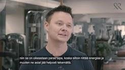 Toimitusjohtaja Janne-Olli Järvenpää johdon valmennuksessa